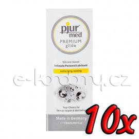 Pjur med Premium Glide 1,5ml 10 pack