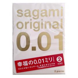 Sagami Original 0.01 2 pack