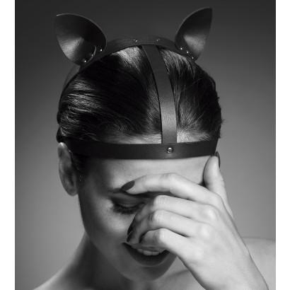 Bijoux Indiscrets Maze Cat Ears Headpiece Black