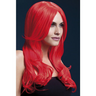 Fever Khloe Wig 42547 - Wig Neon-Red