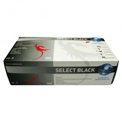 Mister B Box Black Surgical Gloves 100 pack