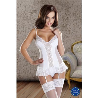 Avanua Marylin Corset - Women Corset White