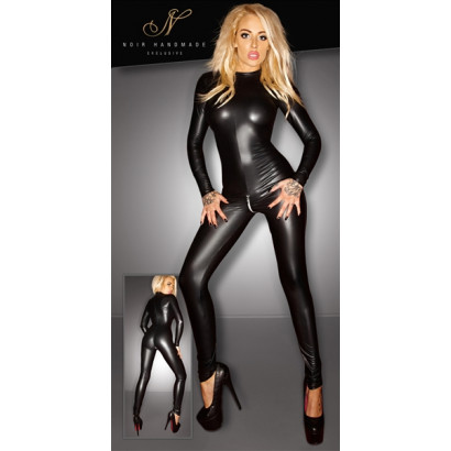 Noir Handmade Wetlook Jumpsuit 2730260