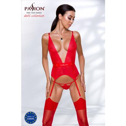 Passion Mirajane Corset Red