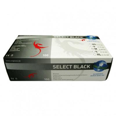 Mister B Box Black Surgical Gloves 100ks
