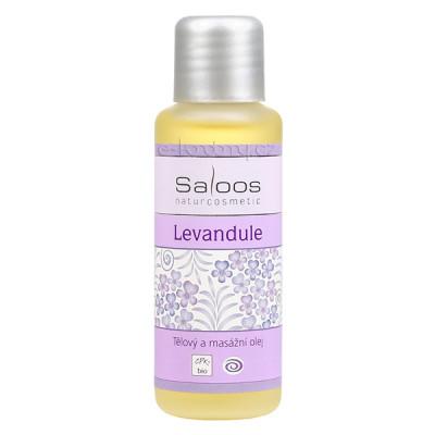 Saloos Levandule - Bio telový a masážny olej 50ml