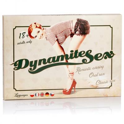 Erotická hra Dynamite sex - Česká verzia