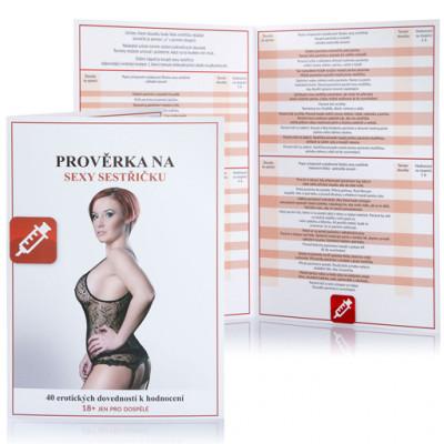 Erotická hra Prověrka na sexy sestřičku - Česká verzia