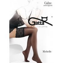 Gatta Michelle 03 - Samodržiace pančuchy Nero Čierna