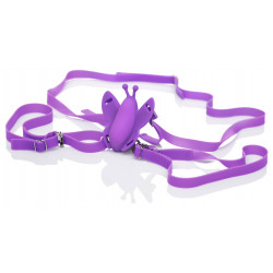 California Exotics Remote Wireless Butterfly Purple