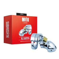 MOI Submission El Castita Chromed Male Chastity Device 50mm