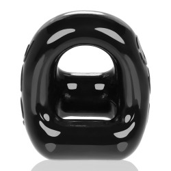 Oxballs 360 2-Way Cockring and Ballsling Black