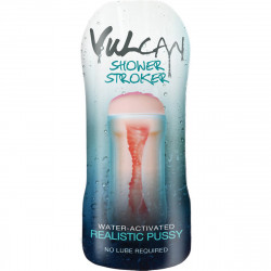 Vulcan Shower Stroker Water-Activated Realistic Pussy