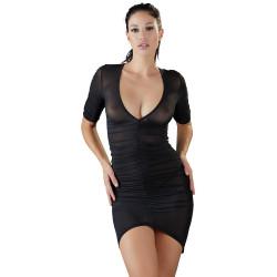 Cottelli Semi Transparent Mini Dress 2717735 Black