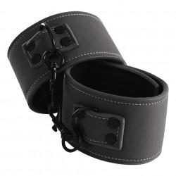 NS Novelties Renegade Wrist Cuffs Čierna