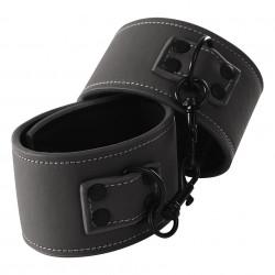 NS Novelties Renegade Ankle Cuffs Čierna