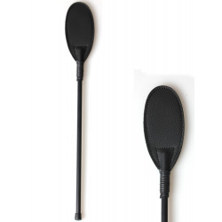 Secret Play Oval Riding Crop Black