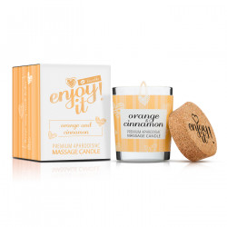 Magnetifico Enjoy it! Massage Candle Orange and Cinnamon 70ml