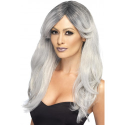 Fever Ghostly Glamour Wig Grey 44256