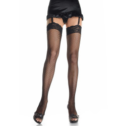 Leg Avenue Fishnet Stockings 9023 Čierna