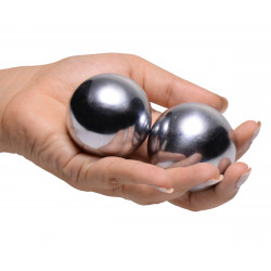 Master Series Titanica Extreme Steel Orgasm Balls