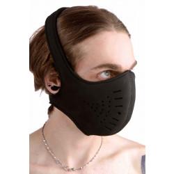 Master Series Neoprene Snap On Face Mask Black