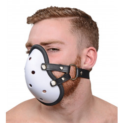 Master Series Musk Athletic Cup Muzzle with Removable Straps