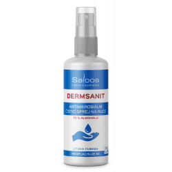 Saloos Dermsanit Natural Hand Cleaning Antimicrobial Spray 100ml