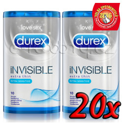 Durex Invisible Extra Sensitive 20ks