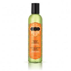 KamaSutra Naturals Massage Oil Tropical Fruits - Prírodný masážny olej Tropické ovocie