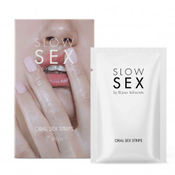 Bijoux Indiscrets Slow Sex Oral Sex Strips 7 pack