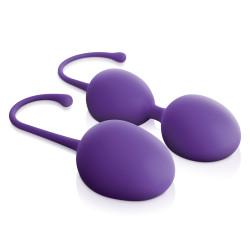 Jimmyjane Intimate Care Kegel Trainer Set Purple