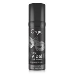 Orgie Sexy Vibe! Liquid Vibrator High Voltage 15ml