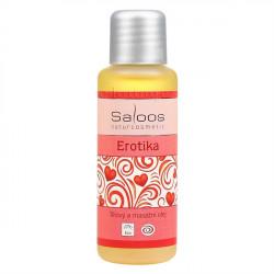 Saloos Erotika - Bio telový a masážny olej 50ml