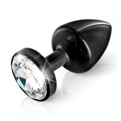 Diogol Anni Round 25mm - Análny šperk Čierna