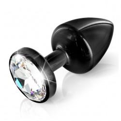 Diogol Anni Round 30mm - Análny šperk Čierna