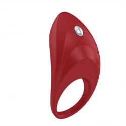 OVO B7 Vibrating Ring - Vibračný krúžok Červená