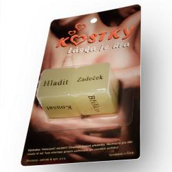 Erotická hra Kostky Láska je hra - Česká verzia