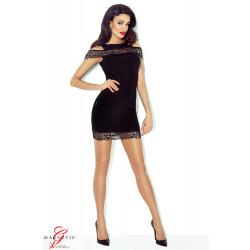 Demoniq Marissa Dress Čierna