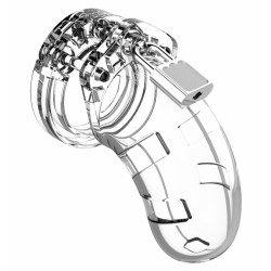 """Shots ManCage Model 13 Chastity 2.5"""" Cock Cage Transparent"""