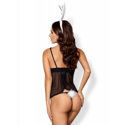 Obsessive 815-CST-1 Bunny Costume 5 pcs Black