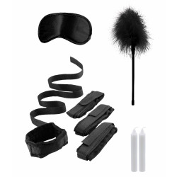 Ouch! Bed Bindings Restraint Kit Black