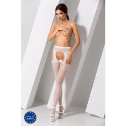 Passion S005 Tights White