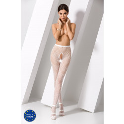 Passion S010 Tights White
