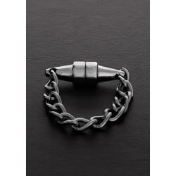 Triune Mini Magnetic Nipple Pincher Brushed Steel 1 piece