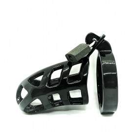 Black Label Black Chastity Series Brutus Stainless Steel 50mm