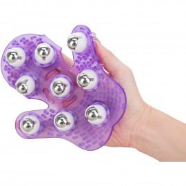 Simple & True Roller Balls Massager Purple
