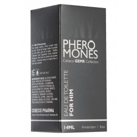 Cobeco Pharma Onyx Pheromones Men Eau De Toilette 14ml