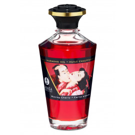 Shunga Aphrodisiac Warming Oil Blazing Cherry 100ml