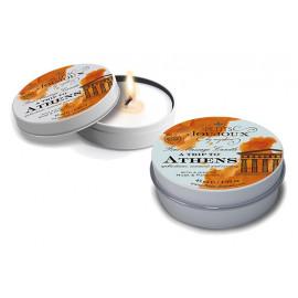 Petits JouJoux Massage Candle A trip to Athens Musk & patchouli 43ml